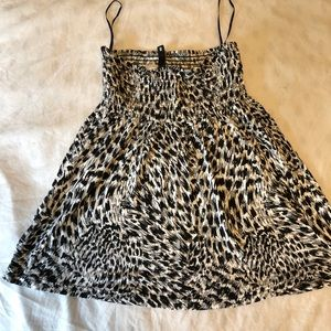 H&M animal print dress size 8